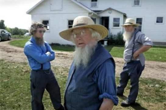 Amish krok upp